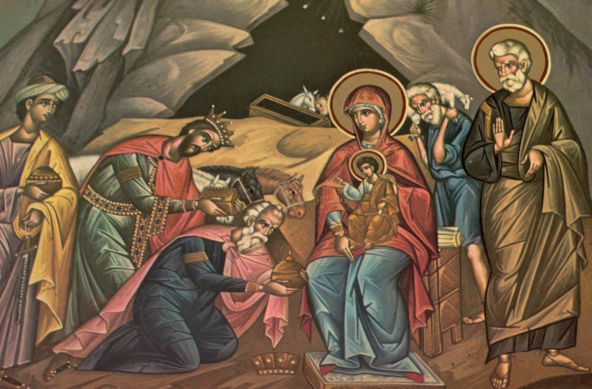 Greek Orthodox Christmas.What Are The 12 Days Of Christmas Epiphany Of Our Lord