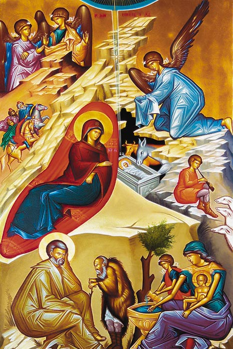The Nativity of our Lord and Savior Jesus Christ in the