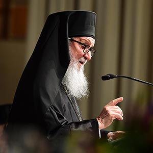 Public Schedule of His Eminence Archbishop Demetrios, Feb. 7-13, 2018
