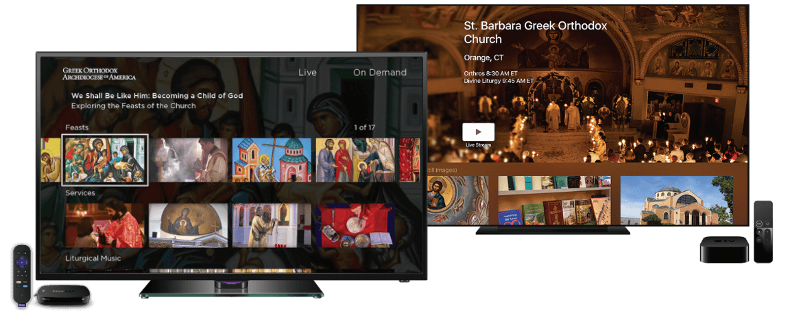 TV Apps - Greek Orthodox Archdiocese of America