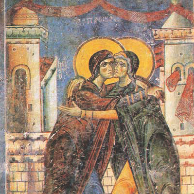 A Relationship to be Emulated: The Maternal Kinship Between the Mother of God and Her Cousin Elizabeth
