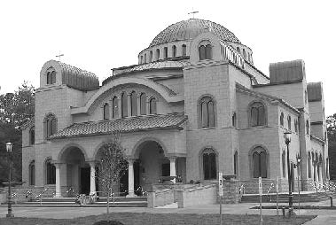 St. Nektarios Church in Charlotte, NC