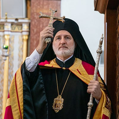 Homily of His Eminence Archbishop Elpidophoros of America at the Great Vespers of the Exaltation of the Precious and Life-Giving Cross and Stavrophoria and Rassophoria of the Seminarians