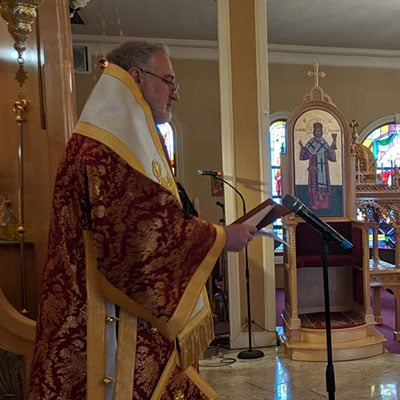 Homily of His Eminence Archbishop Elpidophoros for the Fourth Sunday of Lent