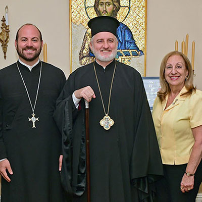 Archbishop Receives D.A.D. Executive Board of the Federation of Church Musicians