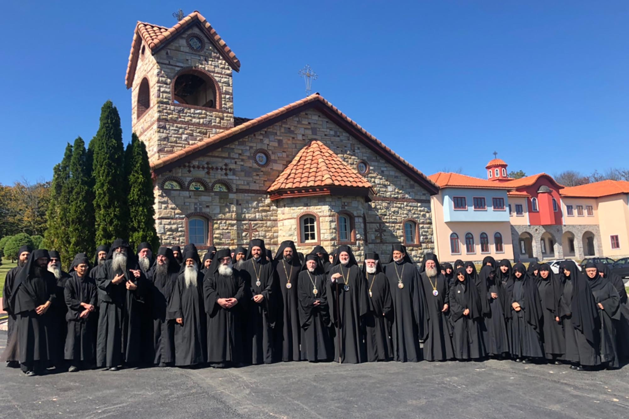 Archbishop Elpidophoros Convenes First Ever Monastic Assembly