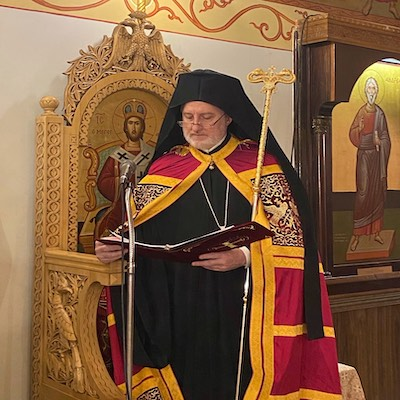 His Eminence Archbishop Elpidophoros  Homily at the Service of the Akathist Hymn