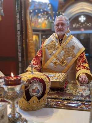 His Eminence Archbishop Elpidophoros  Homily for the Sunday of Thomas