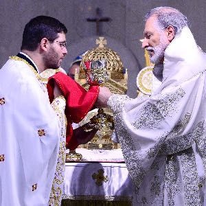 His Eminence Archbishop Elpidophoros  Address at the Ordination to the Priesthood of   Archdeacon Eleftherios Constantine