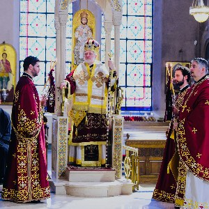His Eminence Archbishop Elpidophoros Ἀντιφώνησις  On the Occasion of the Anniversary of His Enthronement