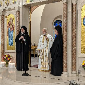 His Eminence Archbishop Elpidophoros Address to Metropolitan Methodios of Boston On the Occasion of His Patronal Feast