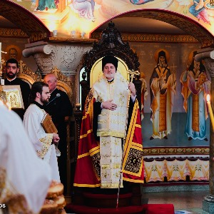 His Eminence Archbishop Elpidophoros Homily for the Great Vespers of the Ascension