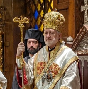 Liturgical Schedule of His Eminence Archbishop Elpidophoros Holy Week and Pascha 2021