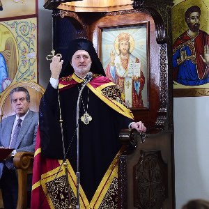 His Eminence Archbishop Elpidophoros of America Great Vespers of Saint Gerasimos of Cephalonia