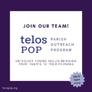 Our Young Adults Step Up: The Telos Parish Outreach Program