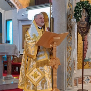 His Eminence Archbishop Elpidophoros  Homily for the Feast of Mid-Pentecost