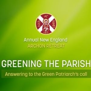 Greening the Parish: Answering to the Green Patriarch's Call