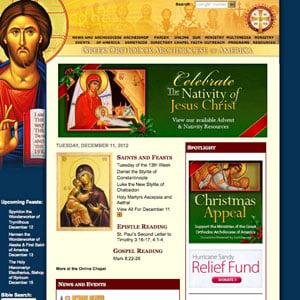 Websites - Greek Orthodox Archdiocese of America
