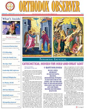 February/March 2017 Orthodox Observer