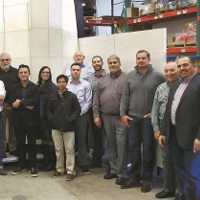 Construction Team Finalizes Fabrication Process for Unique Glass and Stone Rainscreen