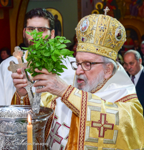 Unable to reach Tarpon Springs Archbishop Celebrates Epiphany in New York