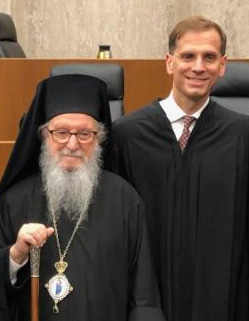 Archbishop Offers Invocation at Investiture of Judge Gregory Katsas