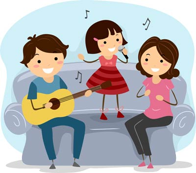Singing and Making Melody as a Family
