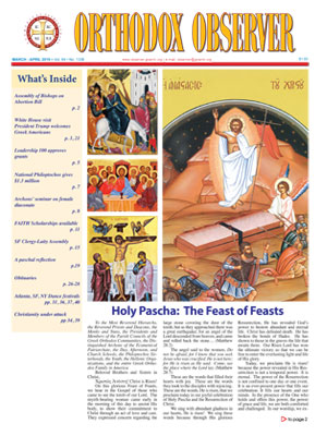 March-April 2019 Orthodox Observer