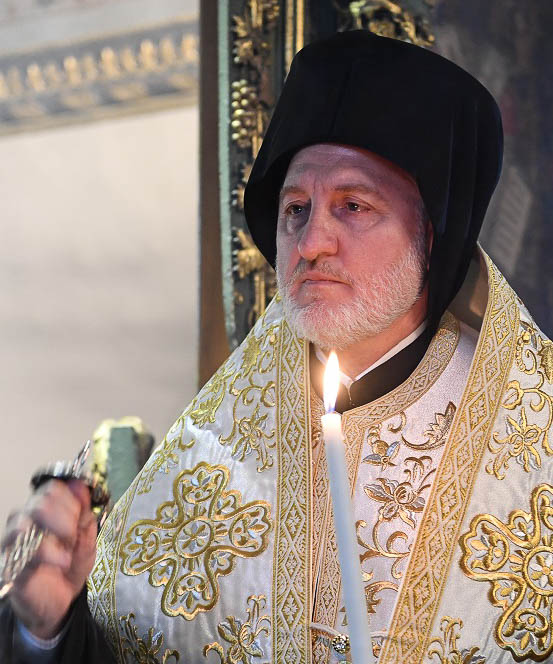 Formal Election Announcement Mega Minima for Archbishop Elpidophoros
