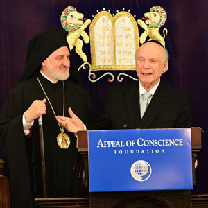 Greetings by Rabbi Arthur Schneier to His Eminence Archbishop Elpidophoros