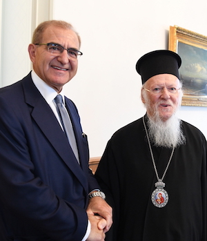 The Deputy Foreign Minister of Greece Visits the Ecumenical Patriarchate