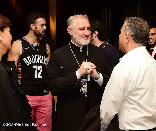Archbishop Elpidophoros Participates in Orthodoxy on Tap - NYC