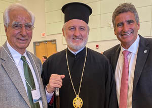Archbishop Attends Installation of UConn New President