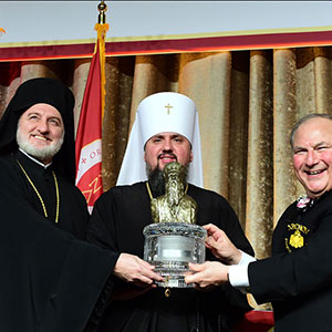 Address at the 2019 Athenagoras Human Rights Award Honoring His Beatitude Epiphaniy Metropolitan of Kyiv and All Ukraine