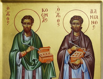 Archiepiscopal Encyclical for the feast of the Holy Unmercenaries Saints Cosmas and Damian