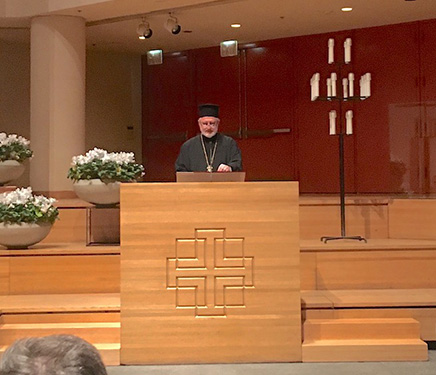 "Archbishop Elpidophoros Keynote Speaker at the Ecumenical Symposium: ""Truth Does Not Fear Dialogue"""