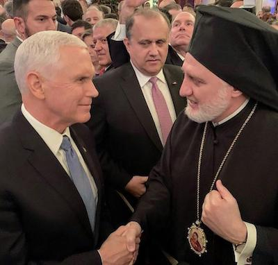 Archbishop Attends State Department Reception