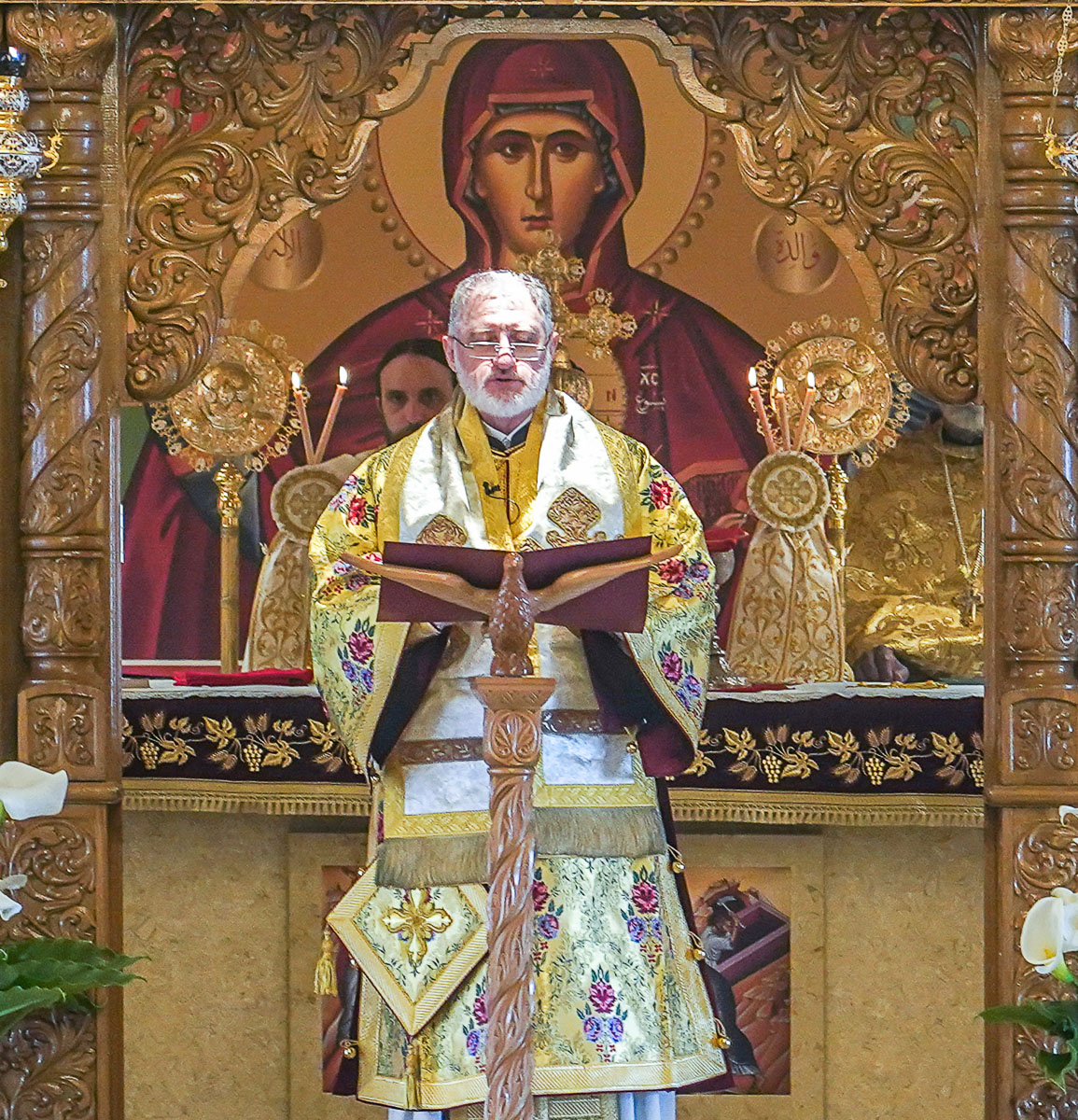 Homily of Archbishop Elpidophoros, St. George Orthodox Cathedral in Daly City, California