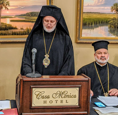 Opening Remarks – St. Photios National Shrine Board of Directors Meeting, Feb. 8, 2020