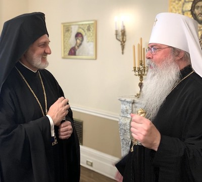 Archbishop Elpidophoros and Metropolitan Tikhon to Feed Those in Need